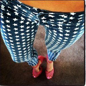 RVCA Star Spangled Skinny Jeans